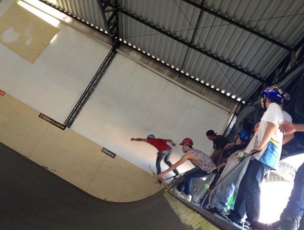 Pista de skate inaugurada em Patos de Minas (Foto: Gullit Pacielle)