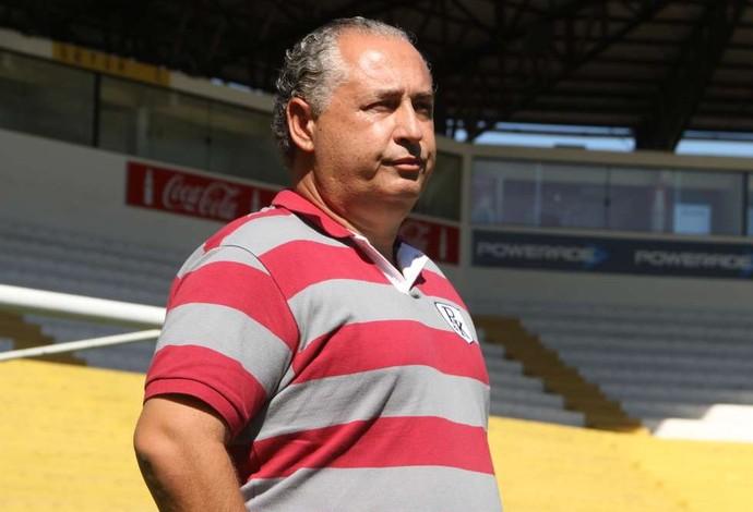 Armando Desessards técnico científico do Criciúma (Foto: Fernando Ribeiro / criciumaec.com.br)