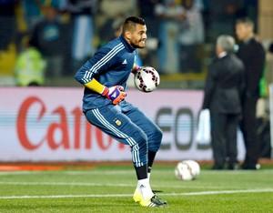 Sergio Romero goleiro Argentina (Foto: Reuters)