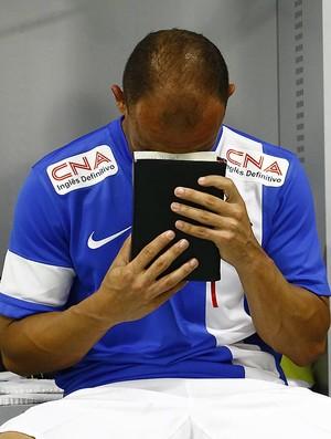 Léo Santos (Foto: Ricardo Saibun/Divulgação Santos FC)