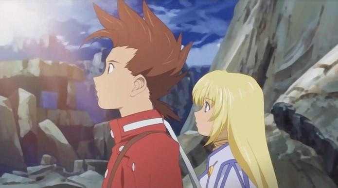 Tales of Symphonia possui várias cenas no estilo anime (Foto: Reprodução)