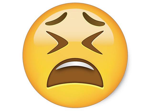 Emoji retrata situação de raiva (Foto: Reprodução / Whatsapp)