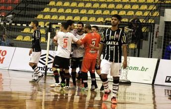Em confronto de seis gols, Joinville segura empate contra Corinthians