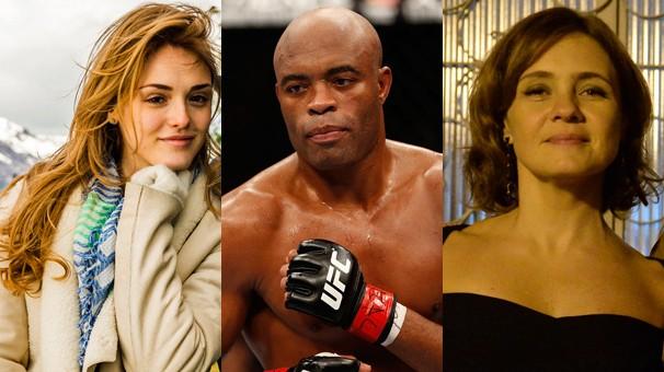 Vêm aí em 2015 a novela das seis Sete Vidas, The Ultimate Fighter 4 e a minissérie Felizes para Sempre (Foto: Globo e Getty Images)