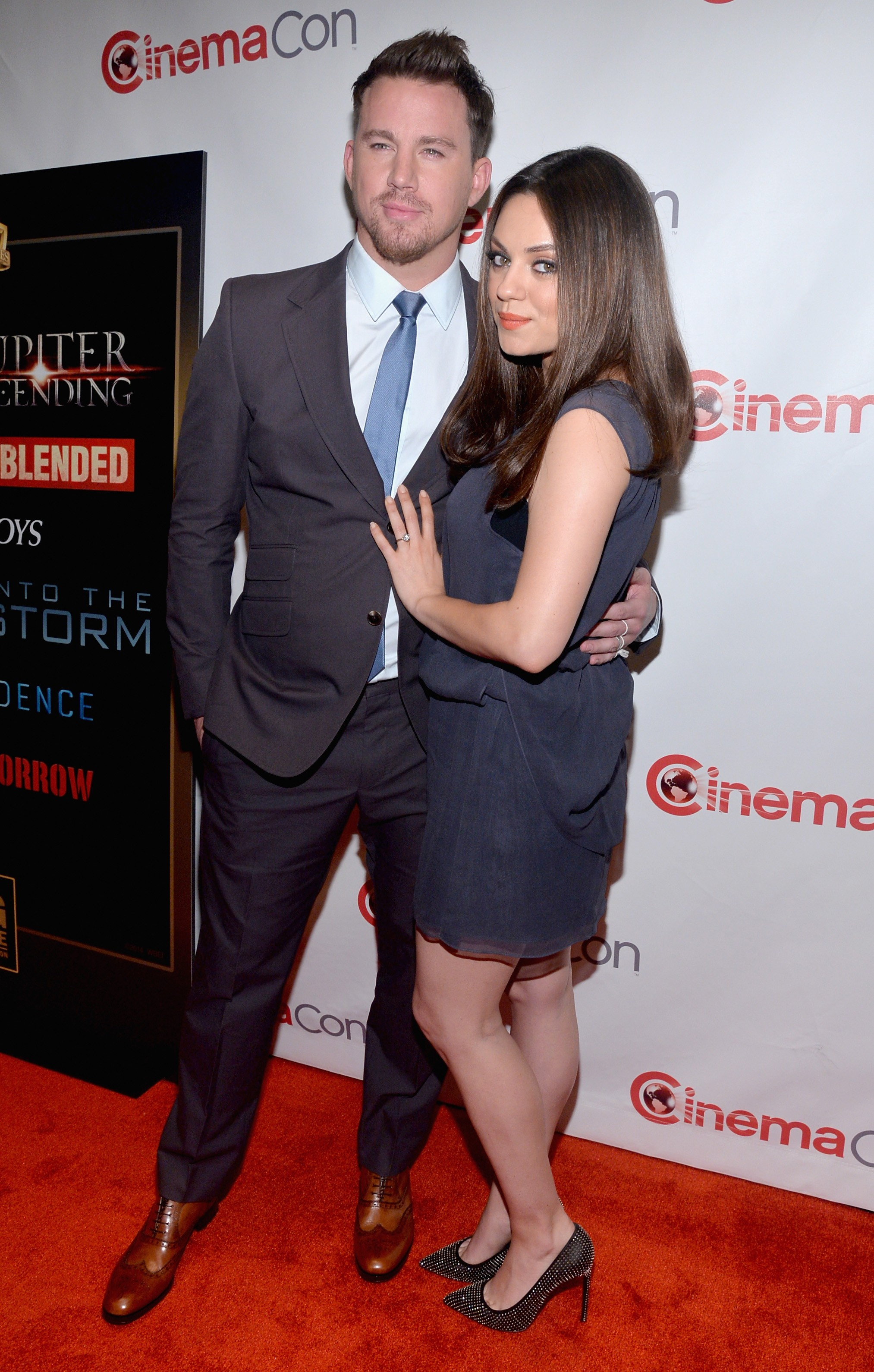 Channing Tatum e Mila Kunis (Foto: Getty Images)