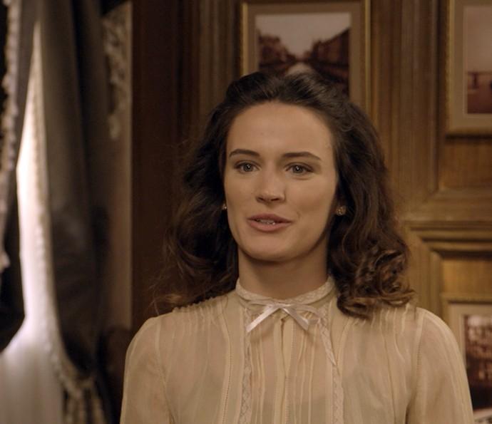 Maria tenta alertar Anastácia sobre novo plano de Sandra (Foto: TV Globo)