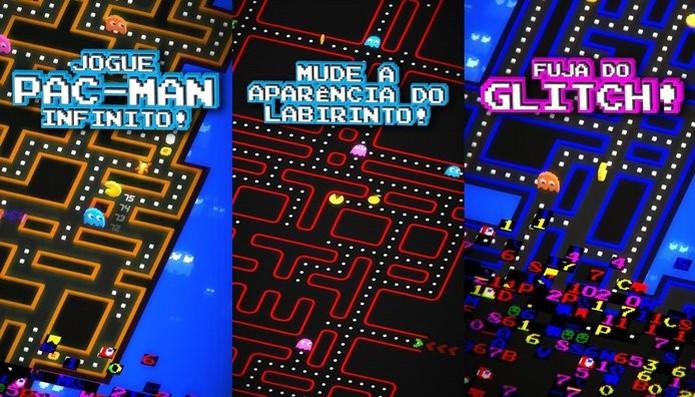 Jogo de Pac-Man é um corrida infinita diferente  (Foto: ]Divulgação/Bandia Namco)