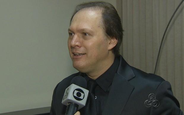TV Amazonas entrevistou o maestro Roberto Minczuk (Foto: Amazonas TV)