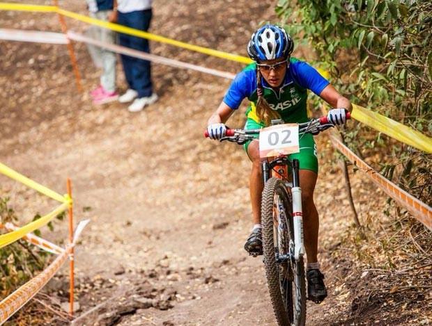 Isabella Lacerda ciclista Itaúna MG Jogos Sul-Americanos Chile 2014 (Foto: Maximiliano Blanco/Shimano Latin America)