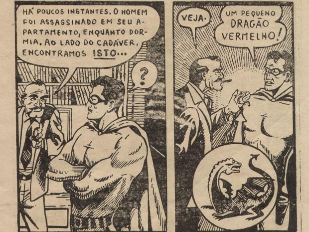 Deodato Borges foi o criador do super-herói Flama (Foto: Divulgação/Brasil Comic Con)