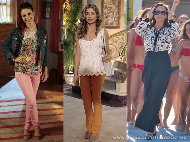 Sapatos para todos os gostos e estilos (Foto: Flor do Caribe/TV Globo)