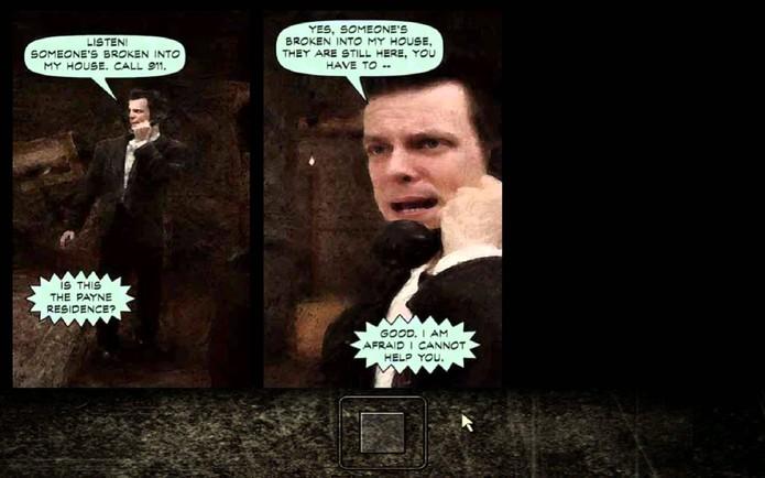 Max Payne 1 tinha referências à mitologia nórdica (Foto: Divulgação/Remedy)