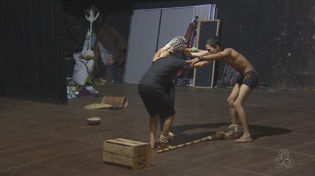 peça, indígenas, bom dia amazônia, amapá (Foto: Bom Dia Amazônia)