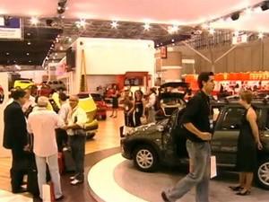 salão de sp 2008 (Foto: Arquivo/Globo News)