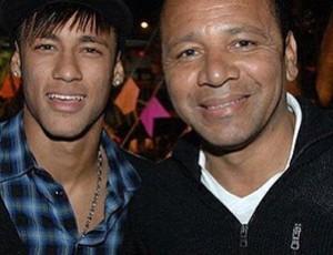 Neymar junto com o seu pai (Foto: Reprodução / Instagram)