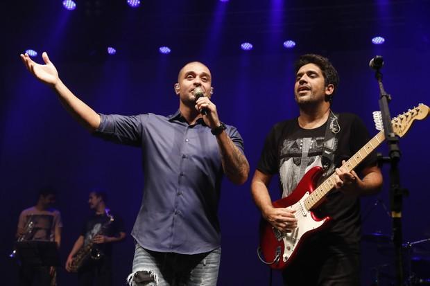 Diogo Nogueria e Sideral (Foto: Felipe Panfili/Divulgação)
