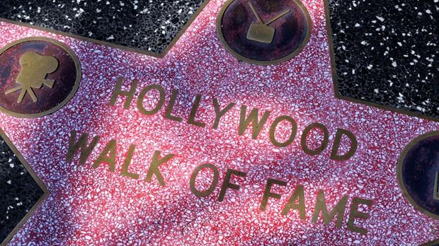 As 5 estrelas mais curiosas da calada da fama (Foto: Divulgao)