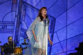 Florence + The Machine se apresentam no palco Mundo (Foto: Felipe Panfili / AgNews)