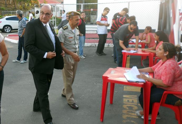 Alexi Portela; Eleição do Vitória (Foto: Eric Luis Carvalho)