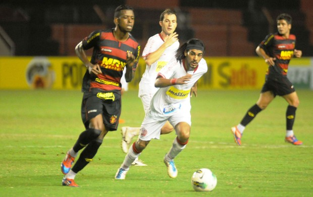 Sport x Náutico, na Ilha do Retiro (Foto: Aldo Carneiro/Pernambuco Press)