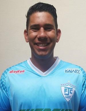Jhonnatas Matos assina com o Galo da BR (Foto: Ji-Paraná FC / Divulgação)