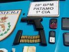 Dupla é presa em Volta Redonda, RJ, após arma ser achada dentro de fogão