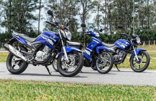Linha Racing Blue da Yamaha (Foto: Divulgação)