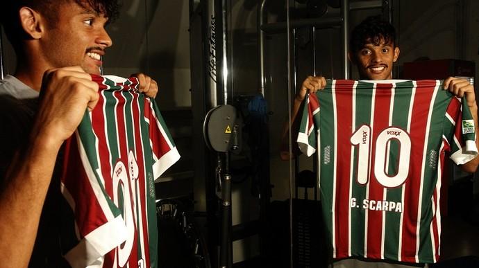 Gustavo Scarpa - camisa 10 do Fluminense (Foto: Nelson Perez / Fluminense F.C.)
