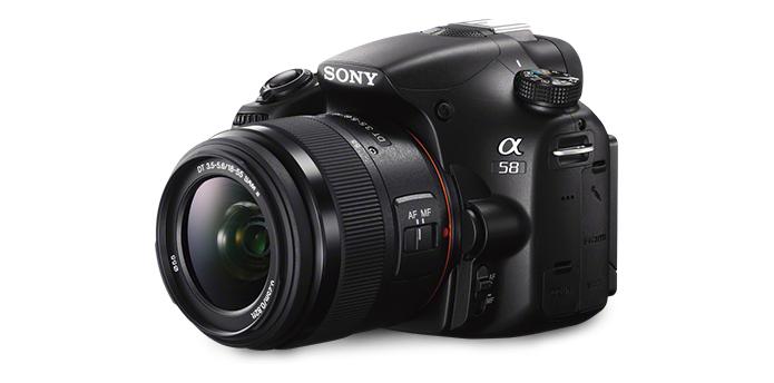 SLT-A58 (Foto: Divulgação/Sony)