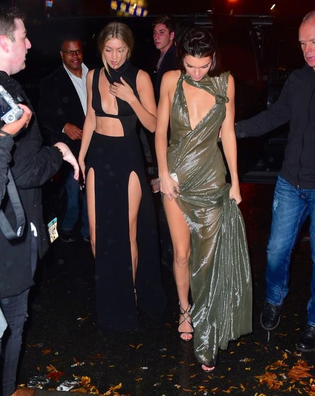 Gigi Hadid e Kendall Jenner (Foto: AKM-GSI)