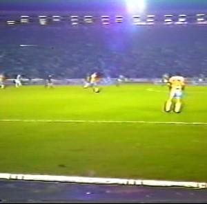 Seleção brasileira de 1982 em Uberlândia (Foto: Reprodução/TV Integração)