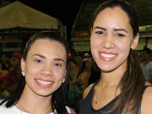 Festa aconteceu na noite desta segunda-feira (8) (Foto: Gabriel Machado/G1 AM)