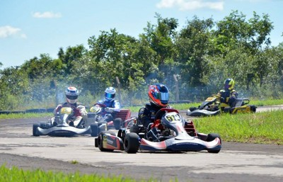 Kartódromo das Moreninhas recebe primeira etapa do estadual de kart (Foto: Eliézer Bueno/FAMS)