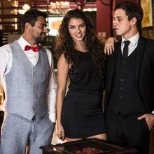 Ana Terra mostra seu lado musical e apresenta banda (Raphael Dias/TV Globo)