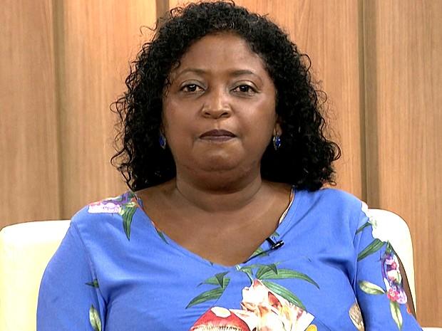Cláudia Durans, candidata a prefeita de São Luís (Foto: Reprodução/TV Mirante)