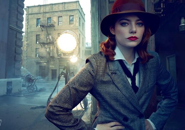 Emma Stone na Vanity Fair (Foto: Annie Leibovitz / Reprodução)
