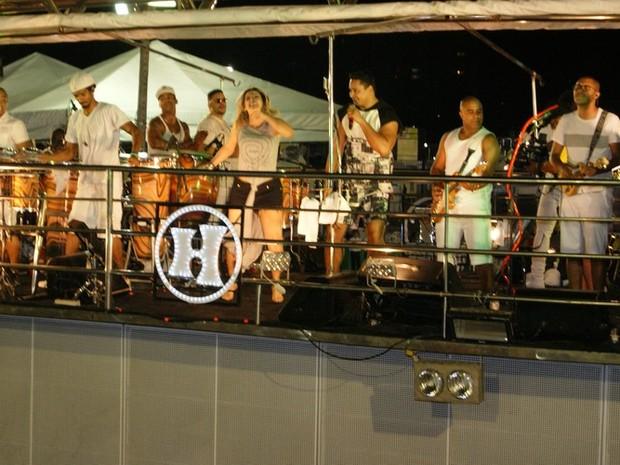 Harmonia do Samba puxou o bloco Meu e Seu (Foto: Augusto Gomes/Gshow)