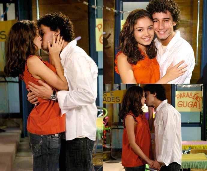 Angelina e Gustavo tiveram que passar por vários obstáculos para ficarem juntos (Foto: CEDOC/TV Globo)