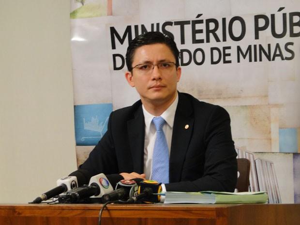 Promotor Henry Wagner Vasconcelos de Castro diz que vai recorrer de absolvição de Bola. (Foto: Cristina Moreno de Castro/G1)