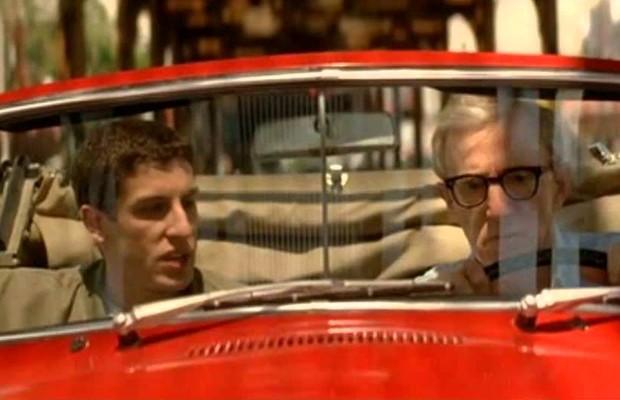 Woody Allen dirige um Porsche 356C Cabriolet em Igual a tudo na vida (Foto: Divulgação)