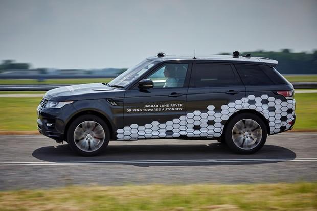 Land Rover Range Rover Sport autônomo (Foto: Divulgação)