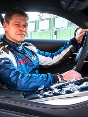 Bernd Maylander, piloto do safety car