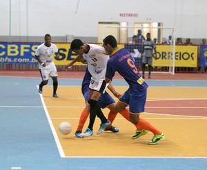 IFPI e Juventus pela Taça Brasil de Futsal Sub-20 (Foto: Zerosa Filho/CBFS)