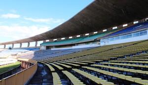 Estádio Albertão, em Teresina (PI) (Foto: Josiel Martins )