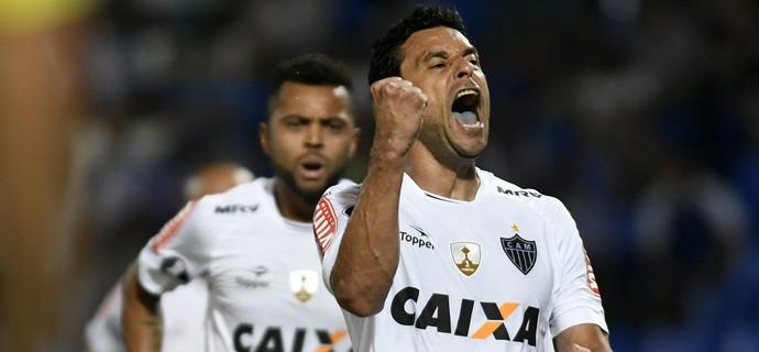 FRED - LIBERTADORES - GODOYCRUZ - ATLMINEIRO (Foto: AFP)