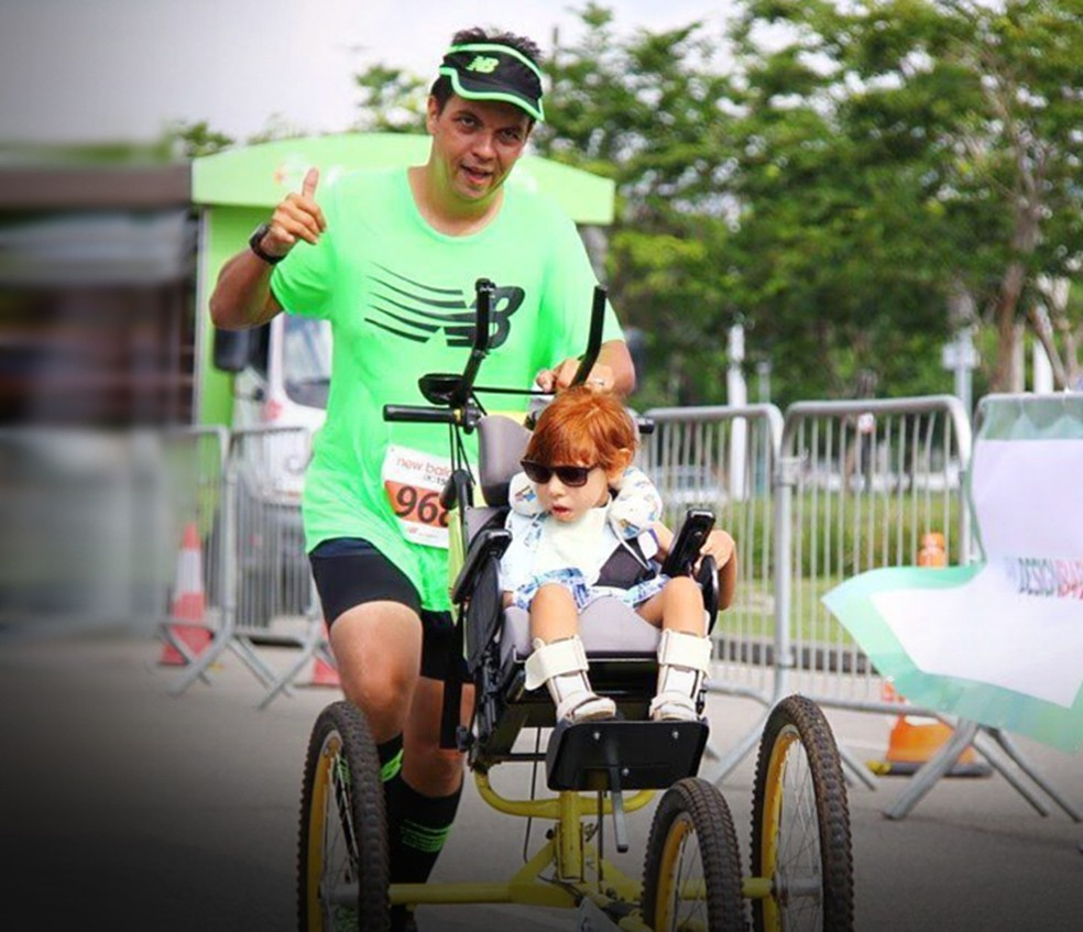 Durante as corridas, Manu e Peterson se completam (Foto: Eu Atleta)