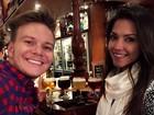 Thais Fersoza e Michel Teló experimentam cervejas na Bélgica