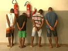 Presos 4 suspeitos de explosões de caixas eletrônicos em Ribeirão Preto