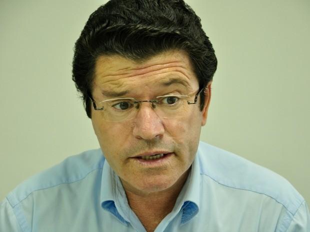 O deputado federal eleito Victório Galli (PSC). (Foto: Jéssica Brito / G1)