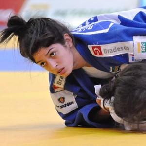 Rita voltou de SP com a prata no Troféu Brasil (Foto: Divulgação/CBJ)